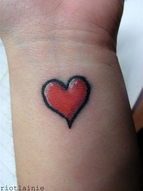 simple red tattoo simple red heart tattoo interior home design