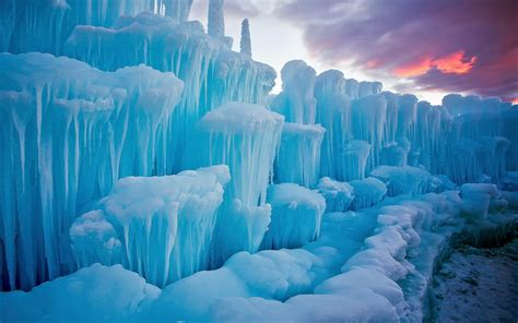 winter snow cold stunning pieces  ice icicles  nature