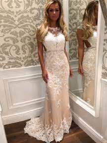 tight prom dresses sheath column scoop floor length tulle