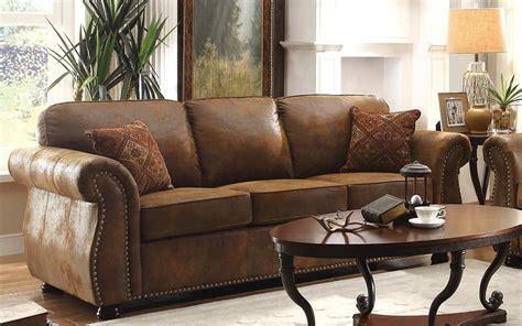Corvallis Furniture Stores by Homelegance Corvallis Sofa Brown 8405bj 3 At Homelement