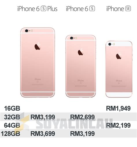apple reduces malaysian pricing for iphone 6s 6s plus and iphone se soyacincau