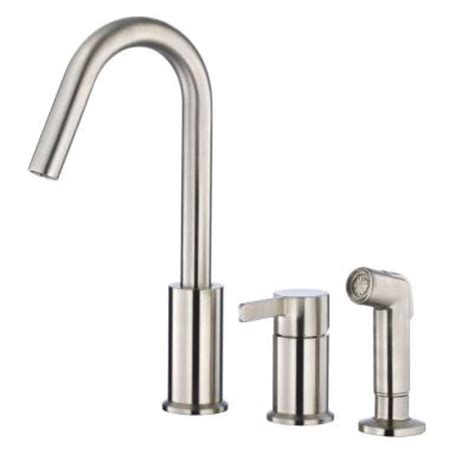 kitchen faucet home depot danze amalfi single handle standard kitchen faucet in stainless steel d409030ss the home depot