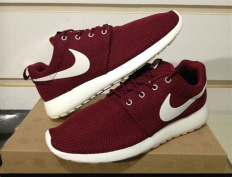 nike maroon running shoes shoes burgundy burgendy nike running shoes roshe runs