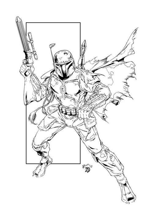 lego wars boba fett coloring pages wars jango fett coloring pages az coloring pages
