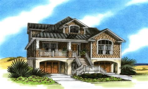 elevated home plans elevated coastal house plans coastal house plans on