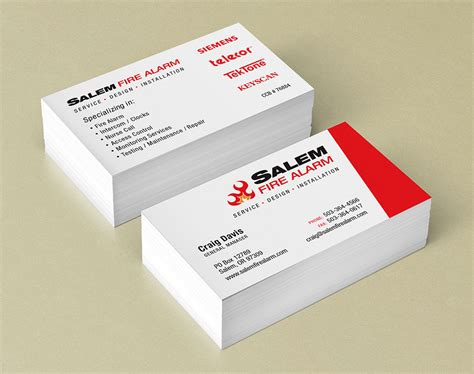 Alarm Code Card Template by Business Cards Salem Oregon Images Business Card Template
