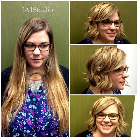 before and after picuters of long to short hair 279 best images about haircuts and color before and after