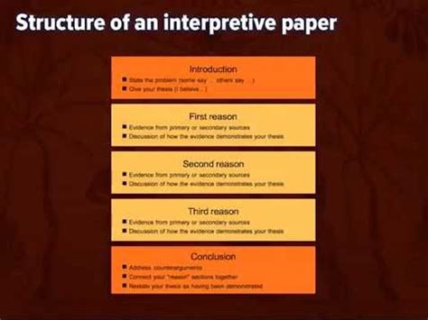 essay structure youtube writing an interpretive essay 1 thesis and structure