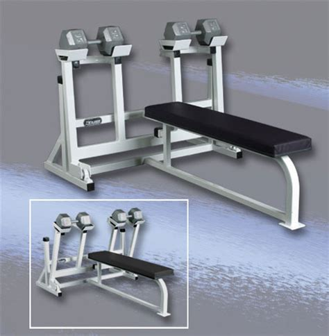 self spotting weight bench all american free weight self spotting dumbbell press