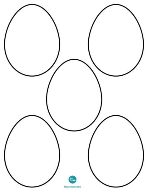 blank egg coloring page blank egg clipart best