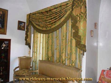 Cache Rideau Salon Marocain by Rideaux Marocain