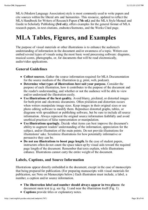 purdue owl research paper purdue owl mla style guide