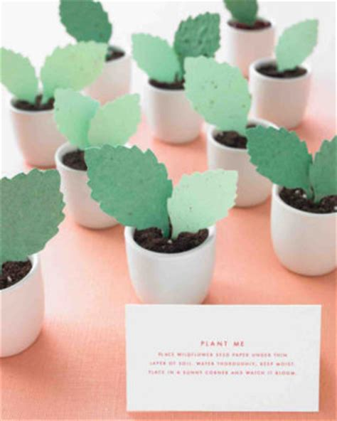 How To Make Seed Paper Favors - wedding stationery inspiration favor ideas