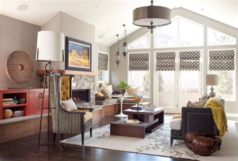global interior design global contemporary eclectic living room denver by atelier interior design