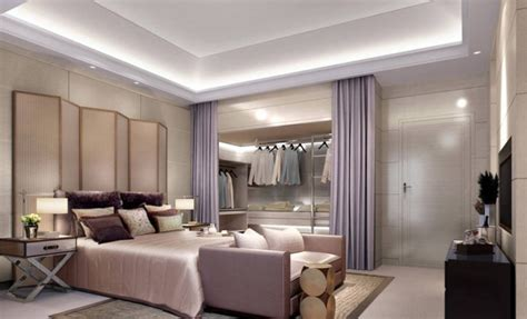 bedroom with dressing room design ideas