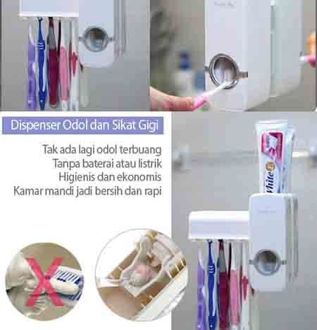 Jual Dispenser Pasta Gigi Karakter jual dispenser odol murah merk touch me dispenser pasta