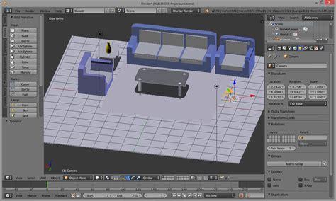 video tutorial blender membuat rumah tutorial membuat ruang tamu di software blender 3d