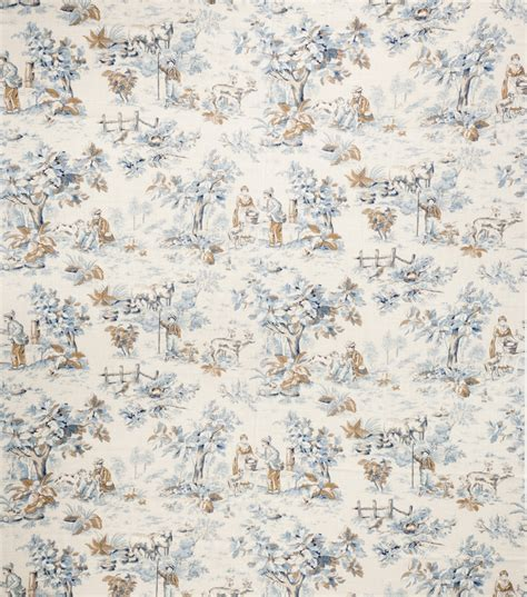 jaclyn smith upholstery fabric upholstery fabric jaclyn smith cleo cobalt at joann com
