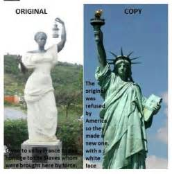 what was the original color of the statue of liberty the original statue of liberty presented to the u s was a