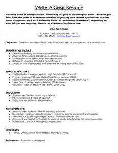 Great Resume Builder Free by How To Write A Great Resume Getessay Biz