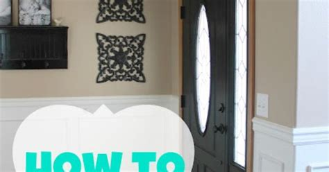 How To Paint A Door Without Brush Marks by Blissfully After How To Paint A Door Without Brush