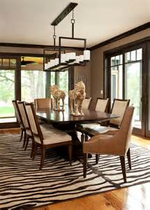 Dining Room Paint Colors With Wood Trim 5 Rooms Featuring A Zebra Print Rug