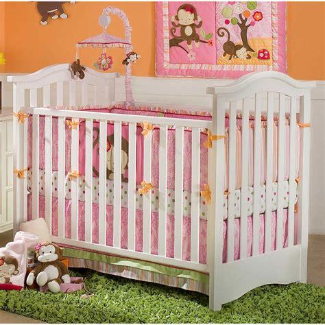 Monkey Crib Bedding Sets by Kidsline Miss Monkey 4 Crib Bedding Set