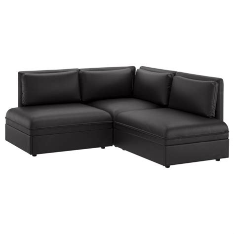 ikea sofa bed leather 25 best ideas about leather sofa bed ikea on pinterest