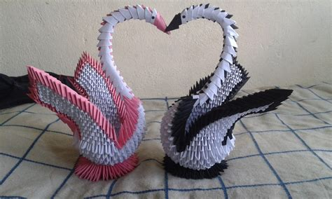 tutorial de cisne en origami 3d cisnes en origami 3d para toda ocaci 243 n u s 25 00 en