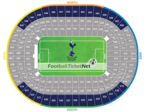 tottenham wembley seating plan away fans tottenham hotspur vs arsenal 10 02 2018 football ticket net