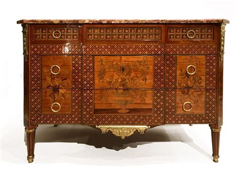 Commode Louis Xvi Marqueterie by Commode 224 Ressaut En Marqueterie 224 La Reine 233 Poque