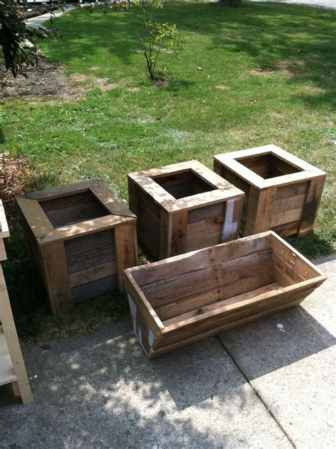 pallet planter boxes pallet planter boxes outdoor pallet furniture