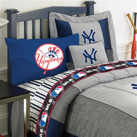 yankees bedroom new york yankees queen size sheets set
