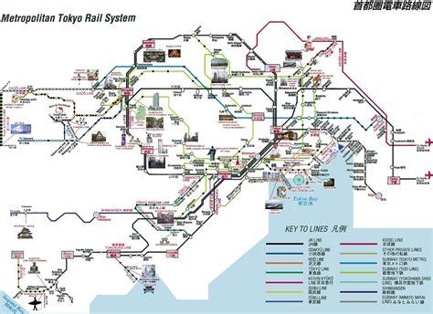 printable map tokyo map of tokyo