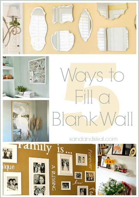 ways  fill  blank wall sand  sisal