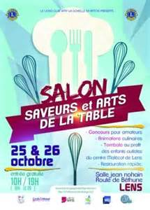 cuisin affaire lens salon saveurs arts de la table lens 2015