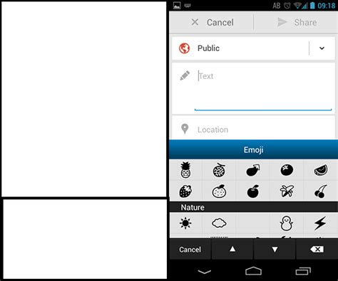 instagram emoji android how do i get emoji to post in instagram with the gs4 page 2 android forums at androidcentral
