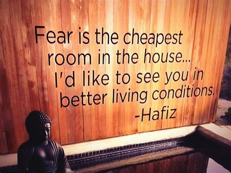 fear is the cheapest room in the house pin by tlc travels tours cruises on tlc vision board