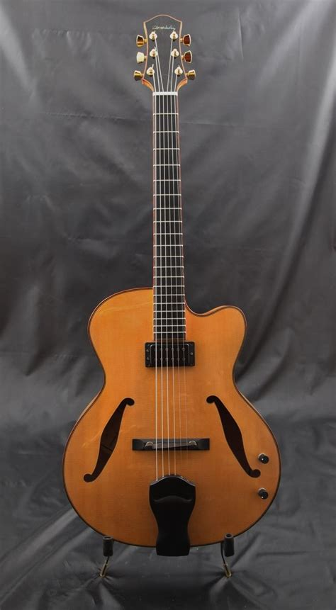 Handmade Archtop Guitars - crafted 16 quot archtop guitar by zimnicki guitars