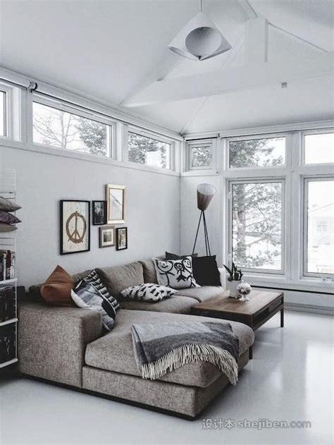 实木沙发图片大全 客厅沙发摆放效果图 设计本专题