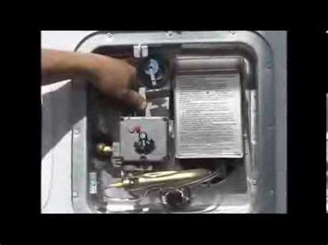 how to light a water heater with electronic pilot lighting water heater with electronic ignition