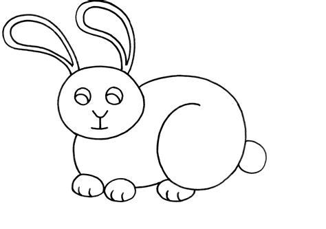 imagenes para colorear animales dibujo colorear 29 rabbit dibujo de animales para imprimir