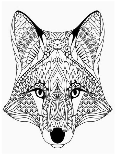 coloring pages for adults wolf 43 best animals coloring pages for adults images on