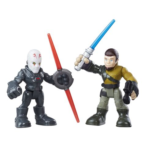 playskool heroes star wars galactic heroes kanan jarrus  inquisitor