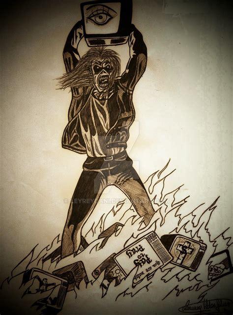 Kaos Iron Maiden 01 iron maiden by leyreydani on deviantart