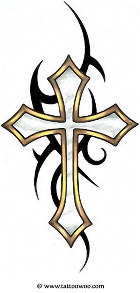 Cross Tattoo Tribal Background | 50 cross tattoos tattoo designs of holy christian