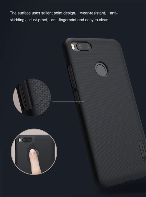 Indoscreen Xiaomi Mia1 Mi5x Anti black xiaomi mi 5x mi a1 nillkin protective back cover