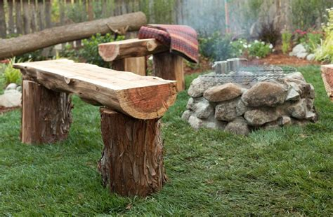 benches made from logs 17 best images about redwood tree ideas on pinterest