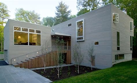 simple contemporary courtyard house plan that you want