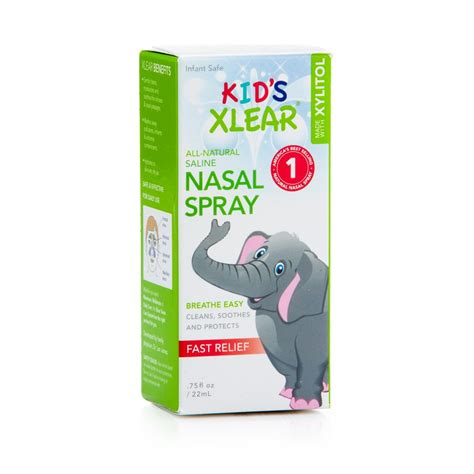 Sinus Care kid s xylitol and saline nasal spray 75fl oz xlear